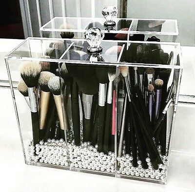 Acrylic Makeup  Brush Holder Makeup Storage Makeup Organiser