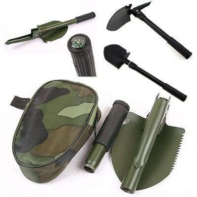 Multi-function Portable Folding Camping Shovel Survival Spade Entrenching Tools