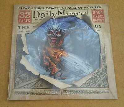 Iron Maiden Empire Of The Clouds Limited Edition Rsd Exclusive Pic Disc Sealed