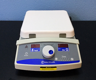 Fisher Scientific Isotemp Hot Plate Magnetic Stirrer 7 x 7 Power Cable Stir Bar