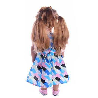 Colorful Summer Dress Clothes for 18inch American Girl Journey Dolls Accs
