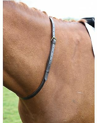 Blenheim Leather Neck Strap Horse Equestrian Tack Riding