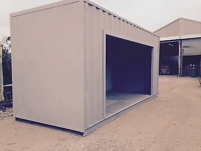 20ft Shipping Container SIDE ENTRANCE - Lancashire