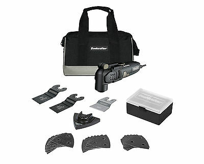 RK5121K Rockwell 31pc 3.0 A Universal Sonicrafer Oscillating Multi-Tool