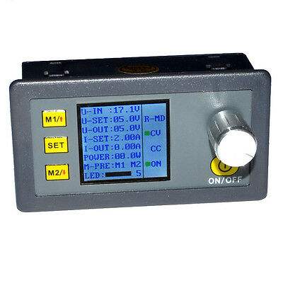 DP20V2A CVCC Programmable Control Step-down Power Supply Modul LCD Display UK