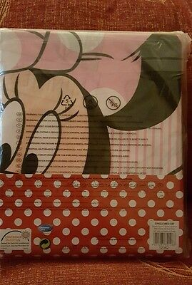 Cover bed minnie mouse