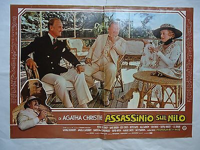 AGATHA CHRISTIE/DEATH ON THE NILE/italy poster