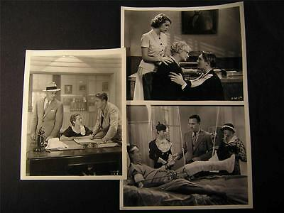 30s Richard Cromwell Among The Missing VINTAGE 3 MOVIE PHOTO LOT 493D