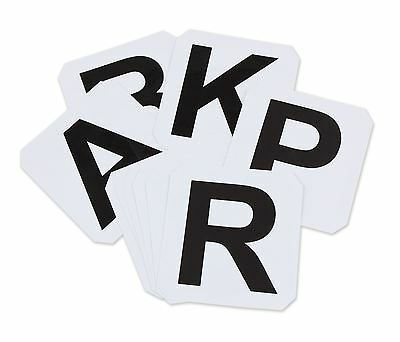 Adhesive Letters (Abcefhkmrsvp) Horse Test Revise Study Learn