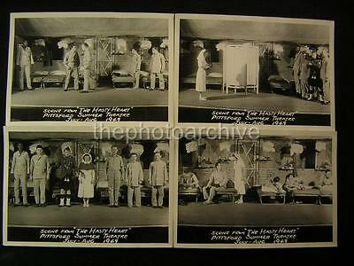 1949 The Hasty Heart Pittsford Summer Theatre VINTAGE 4 PHOTO LOT 366W