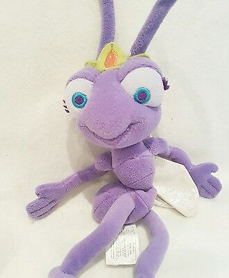A bugs life princess Atta plush beanie soft toy disney store