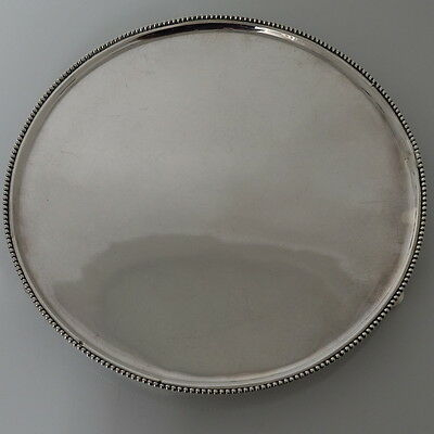 18th Century Silver Dutch Salver Amsterdam 1792 Diederik Willem Rethmeyer