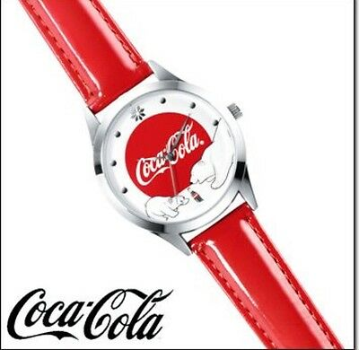 COCA-COLA CHRISTMAS BEAR WATCH-New