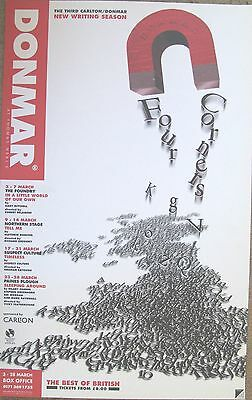 Four Corners, The Best Of British, 1998, Donmar Warehouse, 12.5 x 20 Inch Poster