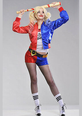 Womens Suicide Squad Harley Quinn Costume
