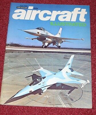 Aircraft Illustrated 1974 June Colerne,DC10,Pembroke
