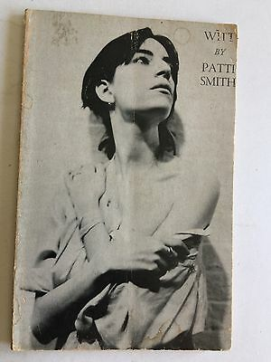 Patti Smith  Witt  1973 Poetry Gotham Book Mart