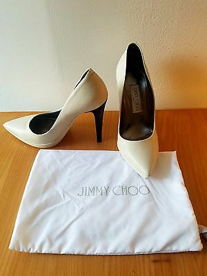 Womens Jimmy Choo Pump Excellent Condition Shoe Sz7 With Box and Dust Bag