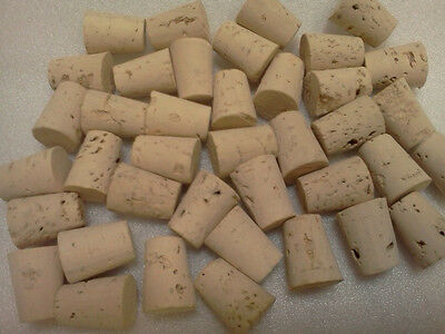 "500Pc Set OAK Cork Top TAPERED Stopper,FOR 1/2""opening,Size Gauge #4 GREAT DEAL!"