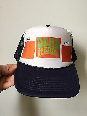 Grateful Dead Dead Heads Cap Trucker Hat NEW RARE Retro Otto Collection One Size