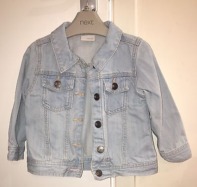 Girls Next Light Denim Jacket (age 18-24 months)