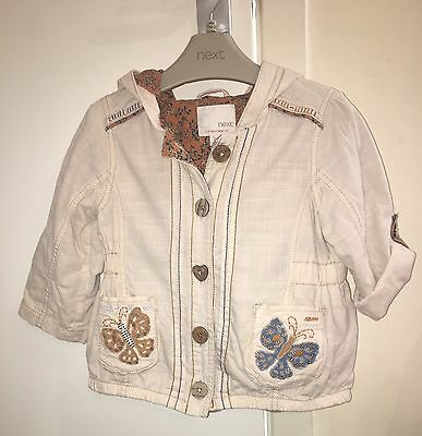 Baby Girl's Next Cotton Summer Jacket (age 12-18 months)