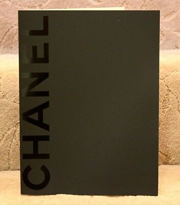5 Chanel Black on Black Folder - Collector's Item - Very RARE!