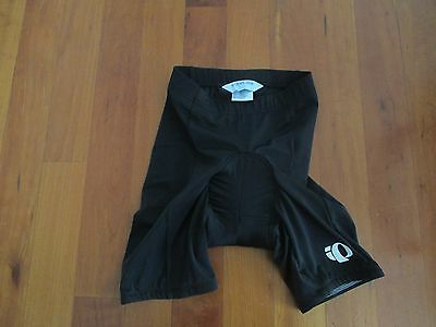NEW Youth Boys Girls PEARL IZUMI Padded Biking Shorts Size Large  Black
