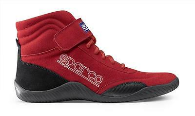 Sparco Red Race Competition Shoes Size 9 | 00127009R