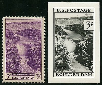 #774E 3¢ Hoover Dam 1935 B.e.p. Photo Essay W/ Finished Stamp Hw2746