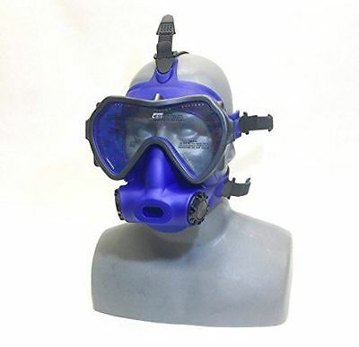 OTS Spectrum Full Face Mask, Blue Clear Lens