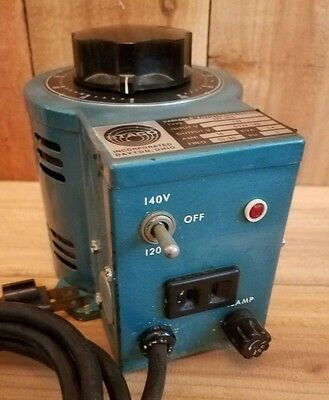Staco Variable Autotransformer #2PF 1010 - 0-120/140 - KVA-1.4 - 10 AMP