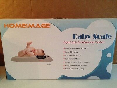 Homeimage Digital Scale For Infants And Toddlers