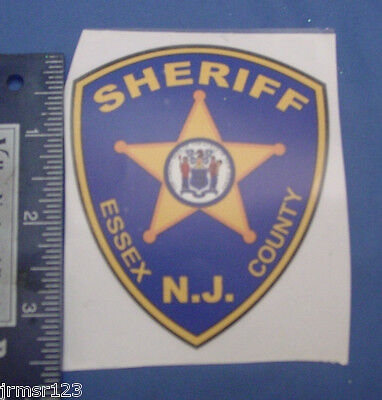 Essex County Nj Sheriff Decal (Outside) Patch Logo  Nj  Pba Decal  New Decals