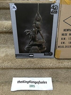 Disney Limited Ed Star Wars 40th Anniversary Statue Figure A New Hope LE of 1250