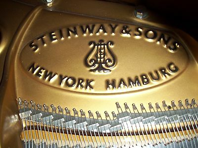 1994 Steinway Model M 1014 Chippendale Grand Piano-Walnut Fin-88 notes-IQ-IPOD