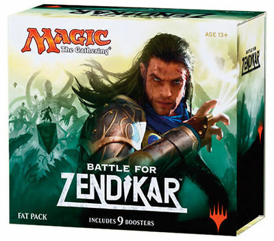 Battle for Zendikar Fat Pack mtg Magic the Gathering NEW