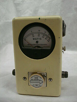 TS-3686 / URM-203 Struthers version of BIRD 43 watt meter with 50E slug