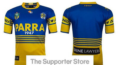 Parramatta Eels NRL 2017 Away Jersey Adults, Kids & Toddlers Sizes! IN STOCK!