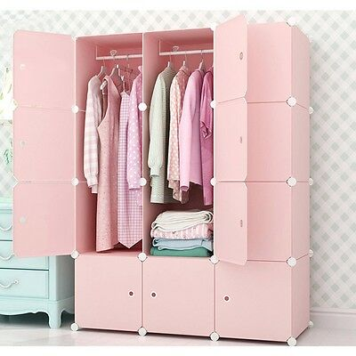 Latest Wardrobe Bedroom Clothing Toy Towel Storage Closet Cabinet Home Furniture