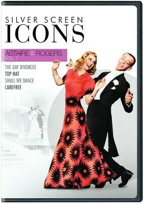 Silver Screen Icons: Astaire & Rogers: Volume 1 [New DVD] Boxed Set