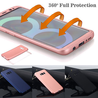 Galaxy S8 Plus Ultra-Thin TPU Shockproof Case Full Protective Cover For Samsung