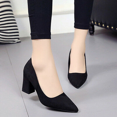 Fashion women The pointy shallow-mouth women's casual shoes madam High heels