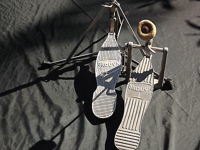 Vintage Drouyn Bass Drum Pedal And Hi-Hat Stand In Great Condition.
