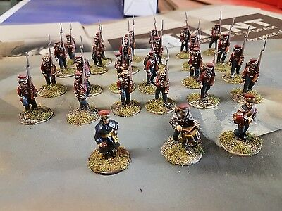 painted 28mm Napoleonic Hanoverian infantry