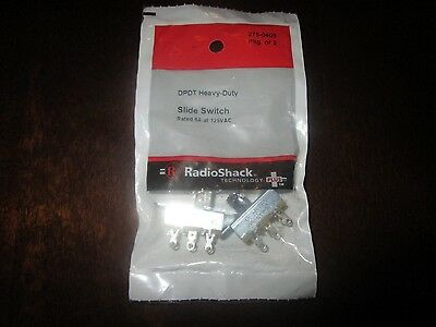 RadioShack Slide DPDT Switch (2-Pack) 275-0403