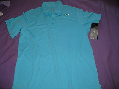 Nike Dri-Fit Performance Tennis T Shirt tshirt Polo shirt Mens Medium