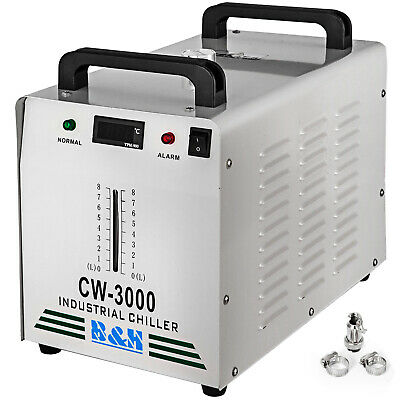 CW-3000 Industrial Water Chiller Thermolysis Type CO2 Glass Laser CNC 60W / 80W