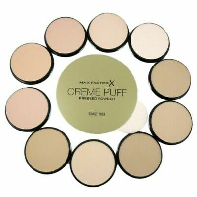 Max Factor Creme Puff Pressed Face Powder Compact 21g - Select Shade