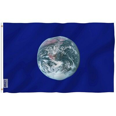 ANLEY 3x5 Ft Earth Day Flag Double Stitch Polyester Environmental Awareness flag